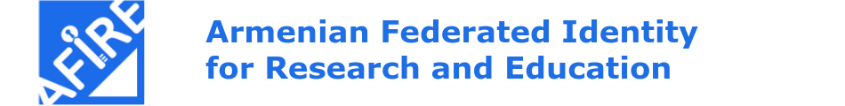 Armenian Federated Identity for Research and Education (AFIRE)